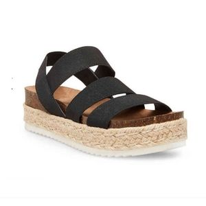 *LAST 1* Steve Madden Flatform Espadrille Sandals
